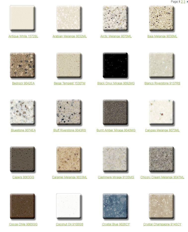 Wilsonart Color Solid Surface